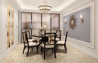 120平米四室一厅北欧风格餐厅装修图片大全
