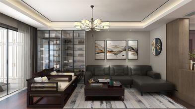 100平米三室一厅中式风格客厅效果图