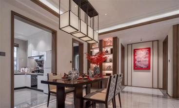140平米三中式风格餐厅设计图