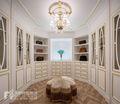 豪华型140平米别墅法式风格衣帽间图片大全