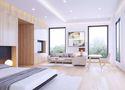 100平米一室一厅日式风格卧室图