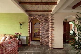 120平米三室两厅地中海风格走廊图片