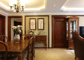 120平米三室一厅欧式风格餐厅效果图