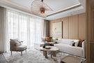 130平米东南亚风格客厅设计图