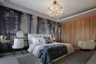 140平米公寓中式风格卧室图