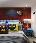 30平米超小户型混搭风格卧室欣赏图