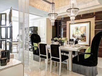 130平米三室两厅新古典风格餐厅图片大全