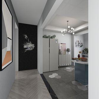 90平米一室一厅现代简约风格玄关装修案例