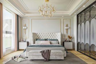 140平米四室一厅北欧风格卧室欣赏图