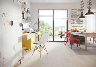 100平米三室两厅北欧风格书房装修效果图