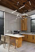 90平米一居室混搭风格厨房设计图