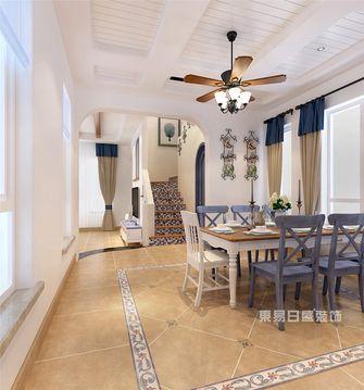 140平米四地中海风格餐厅图片大全