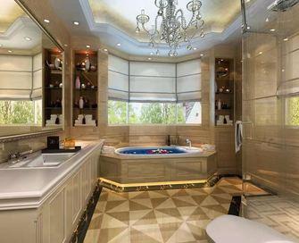 100平米三室三厅美式风格卫生间图片