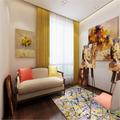 140平米四室两厅东南亚风格书房装修案例
