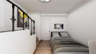 140平米三室三厅现代简约风格卧室欣赏图