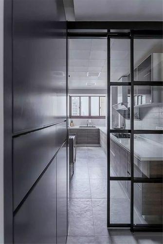 100平米三室一厅北欧风格厨房图