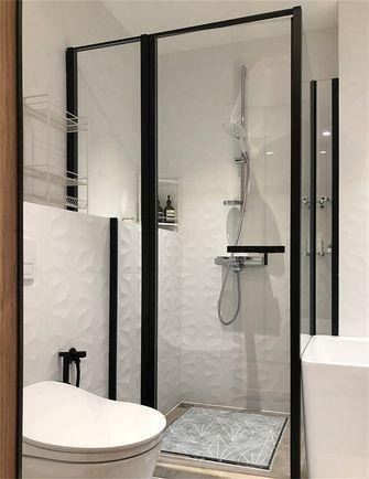 80平米三日式风格卫生间装修案例