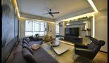 10-15万40平米小户型现代简约风格客厅沙发装修图片大全