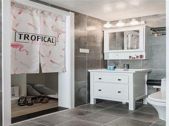 100平米三室一厅田园风格卫生间效果图