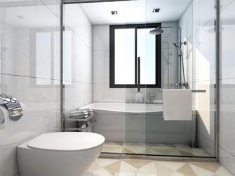 90平米别墅美式风格卫生间图