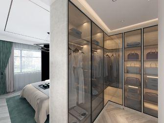 130平米三室两厅混搭风格衣帽间设计图