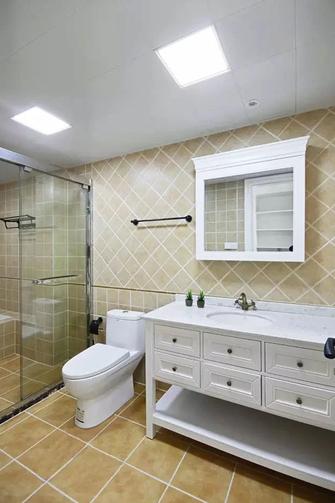 80平米美式风格卫生间图片