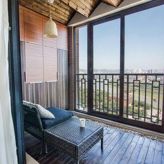 110平米三室一厅混搭风格阳台设计图