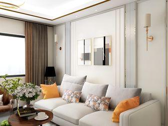 120平米三室三厅欧式风格客厅装修图片大全