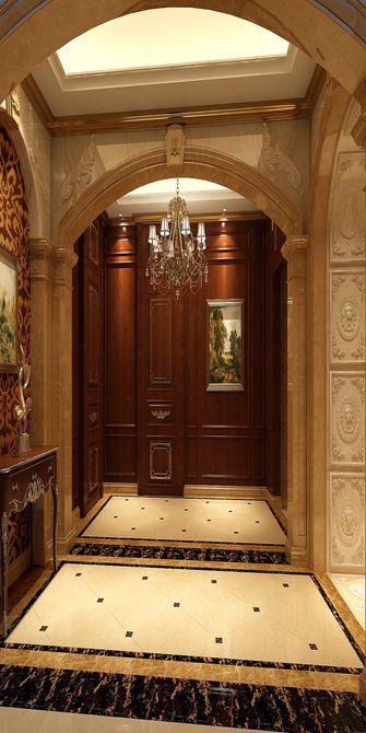豪华型140平米别墅英伦风格玄关装修图片大全