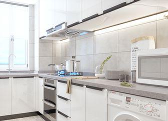 140平米四室一厅现代简约风格厨房设计图