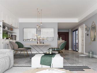 50平米现代简约风格客厅图片
