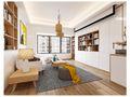 120平米四室两厅田园风格其他区域设计图