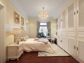 140平米三室两厅宜家风格卧室欣赏图