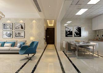 110平米三现代简约风格走廊装修图片大全