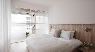 140平米三室两厅日式风格卧室欣赏图