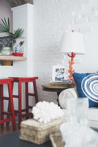 60平米公寓地中海风格客厅图片