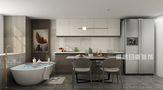 60平米复式现代简约风格厨房效果图