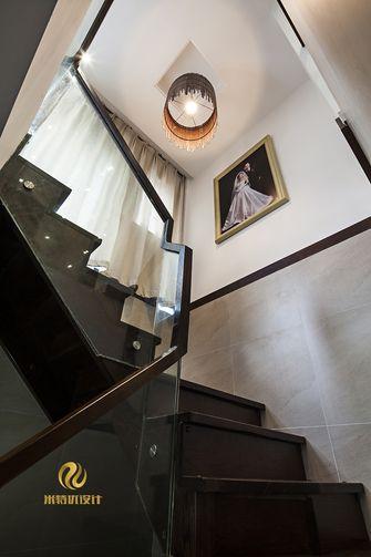 富裕型140平米复式混搭风格楼梯装修案例