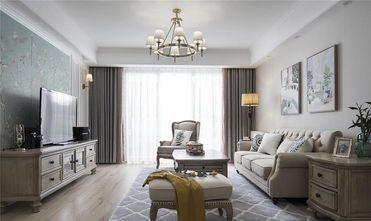 100平米三室一厅美式风格客厅装修案例