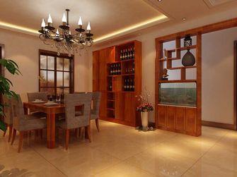 140平米四室一厅东南亚风格餐厅图片