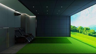 140平米别墅北欧风格影音室图片