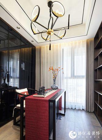 130平米三室一厅中式风格书房图片