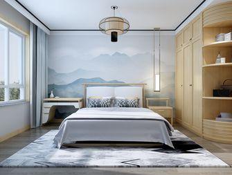 130平米三室两厅中式风格卧室效果图