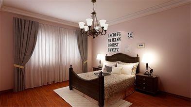 110平米一室两厅美式风格卧室图片大全