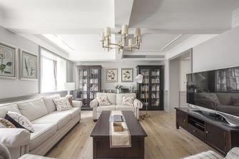 20万以上140平米四室四厅美式风格客厅欣赏图