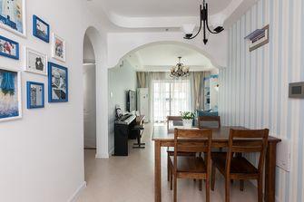 110平米三室两厅田园风格餐厅欣赏图