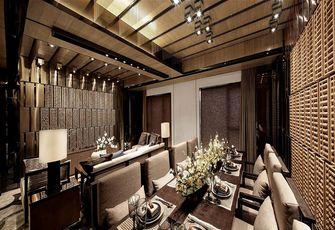 140平米四室两厅东南亚风格餐厅装修案例