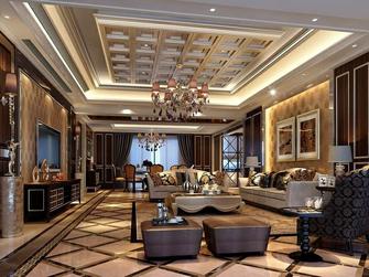 140平米四室三厅新古典风格客厅装修效果图
