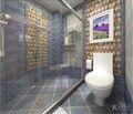 140平米四室四厅地中海风格卫生间设计图