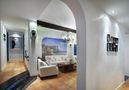 90平米公寓地中海风格客厅效果图
